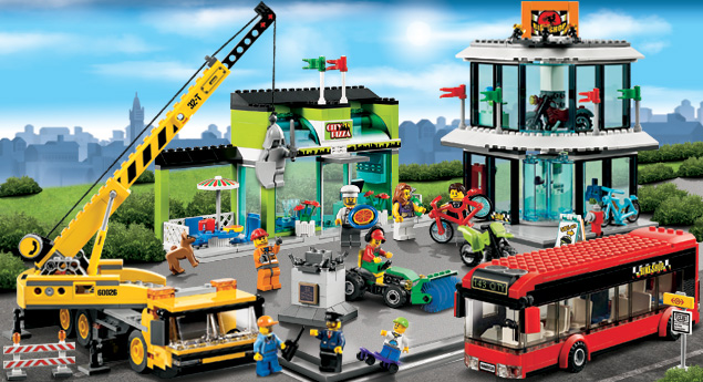 Lego City gives many play options and has lots of add on sets