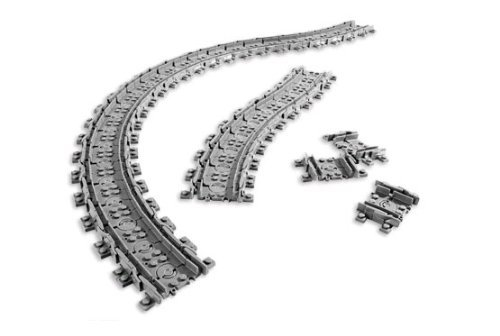 Lego flexible tracks