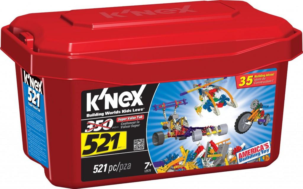 K'Nex 521 piece set