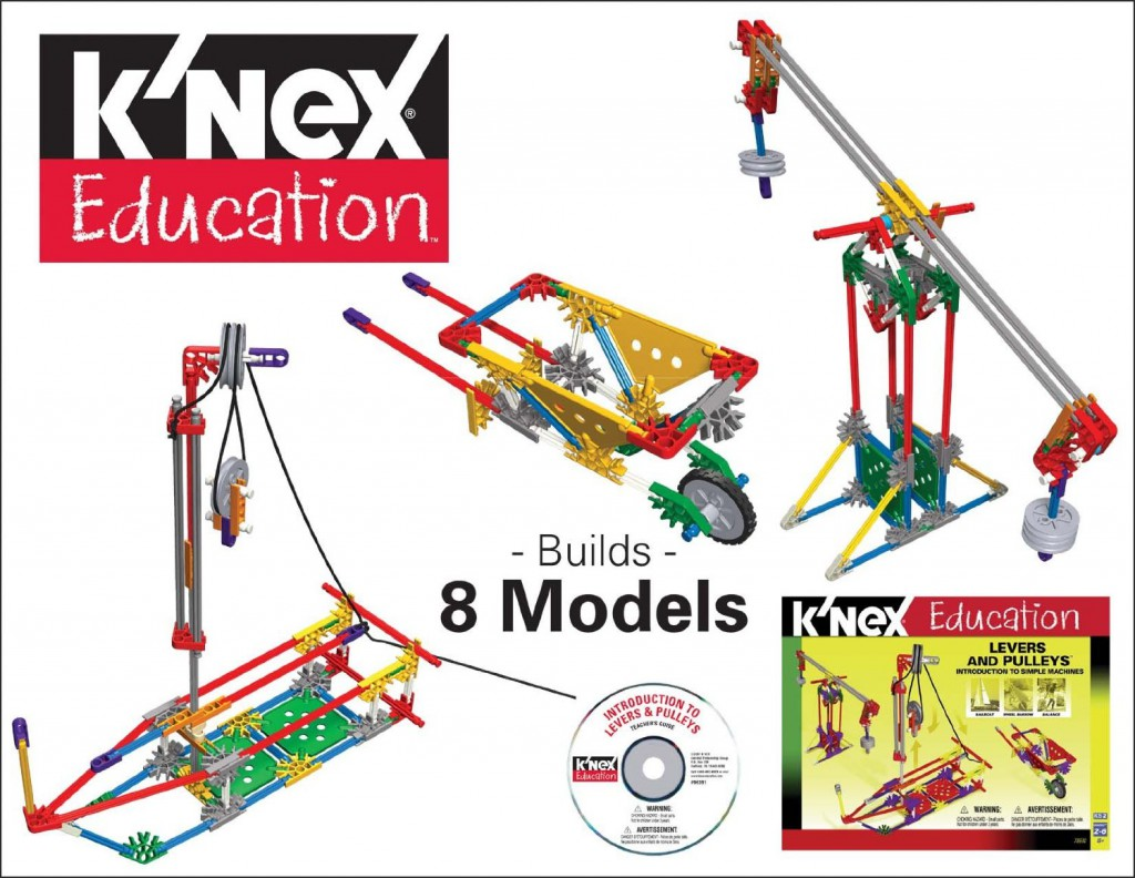 Learn about levers and pulleys with these working models