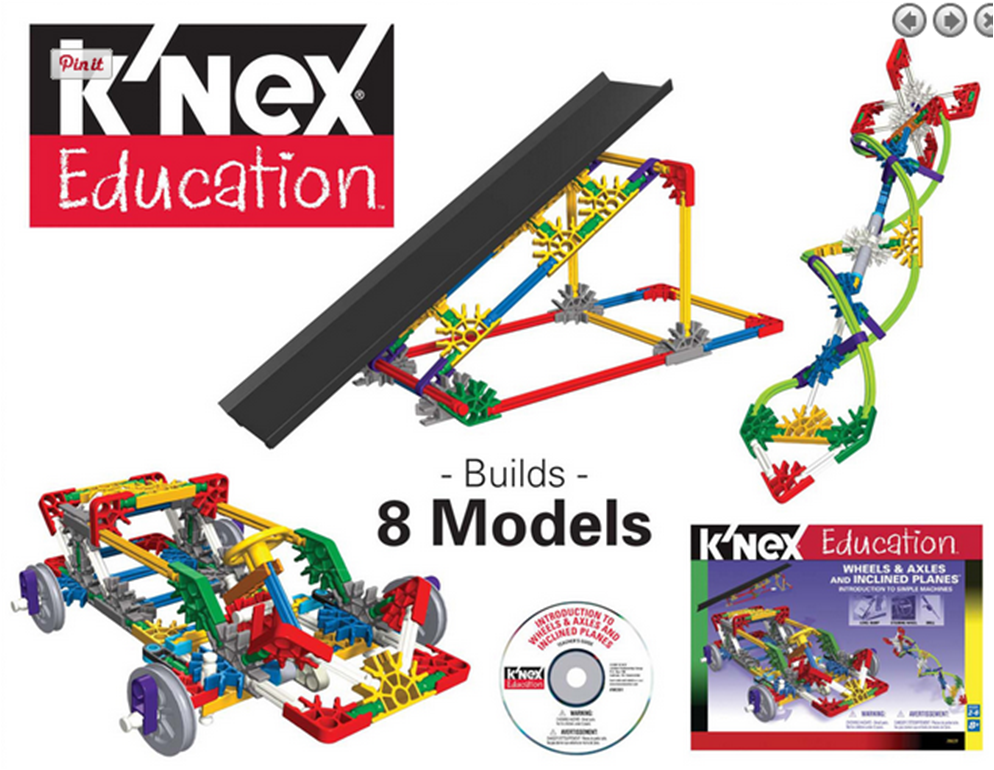 Have fun exploring the use of wheels, axles and inclined planes