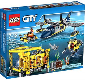 Lego City Deep Sea Operations Base
