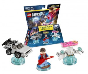 Back to the future level pack