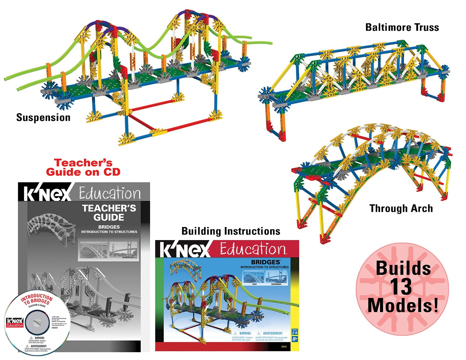 K'Nex bridge building set